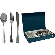 Magefesa 01CU610024P Cordoba Stainless Steel Flatware / Silverware Set, 24 Pieces by Magefesa
