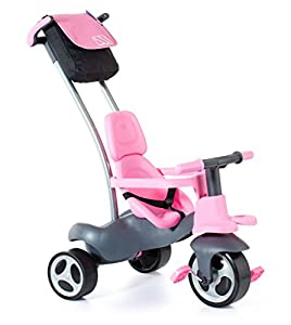 Molto Triciclo Infantil Urban Trike Soft Control, Rosa (17201)