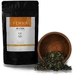 Be Cool Kräutertee für die Wechseljahre - Abkühlung in der Menopause, loser Tee bei Hitze in den Wechseljahren - Erfrischung bei Hitze | FEMNA - die natürliche Alternative für Frauen 50 g