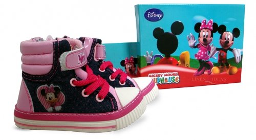 Disney Minnie Maus Kinder Stiefel Größe uk-9/eur-