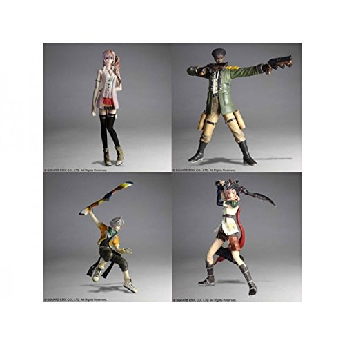 Final Fantasy XIII Trading Arts vol.1 (pack de 4 figurines)