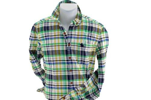 Jack And Jones Scacchi Camicie Nuovo Abbigliamen. Verde