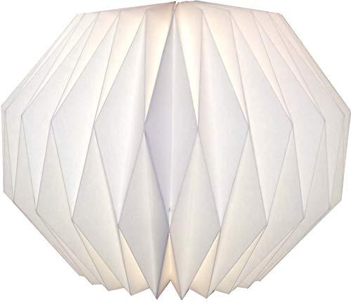 Guru-Shop Origami Design Papier Lampenschirm - Modell Portofino, 24x39x39 cm, Papier Faltlampenschirme, Deckenlampe, Hängeleuchte