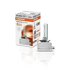 Osram XENARC ORIGINAL D3S HID Xenon-Brenner, Entladungslampe, Erstausrüsterqualität OEM, 66340HBI, Faltschachtel (1 Stück)