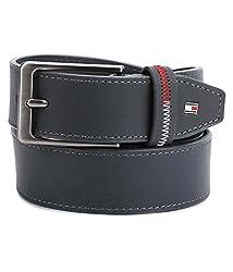 Tommy Hilfiger Mens Leather Belt (8903496088168_TH/ARLIN07XL/GRY)