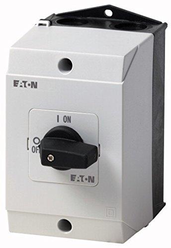 Eaton 207081 Ein-aus-Schalter, 3-polig, 20 A, 90 Grad, Aufbau -