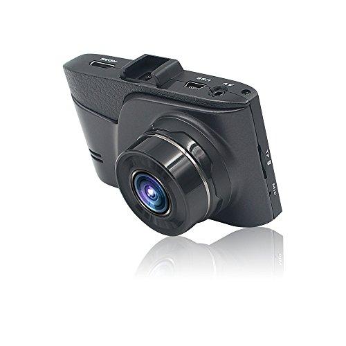 Benbzh Telecamera per Auto 1080P FHD 3 inch Schermo G-Sensor, WDR, Parcheggio Monitor, Registrazione in Loop, Rilevatore di Movimento DVR di Full HD (Nero)