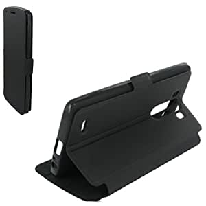 Etui book case stand pour LG FINO D290 noir