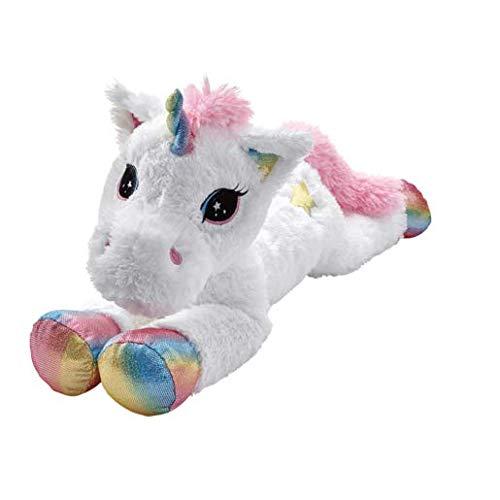 Snuggle Buddies Addo Star Shine Einhorn - super-weiches Kuscheltier 80cm (Teddy Unicorn Bär)