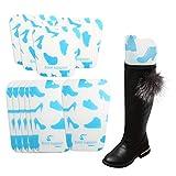 ONEDONE Stiefelspanner 5 Paar Stiefelformer Schuh Unterstützung 2 Größen (Blau)