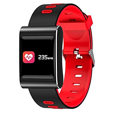 Smart Wristband Blood Pressure Heart Rate Bracelet Fitness Tracker Band K88 Plus Color Screen Watch Ip68 Waterproof Oxygen Sleep Monitor Pedometer Remote Camera Weather Forecast Anti-scratch from Comaie®