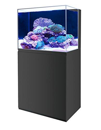 Aquarium boyu eau de mer eau douce neuf 150 litres noir for Achat aquarium eau de mer