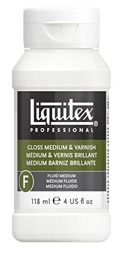 Liquitex 5004 Professional Glanz Gel, Medium und Firnis, 118 ml (Holz Gel Medium)