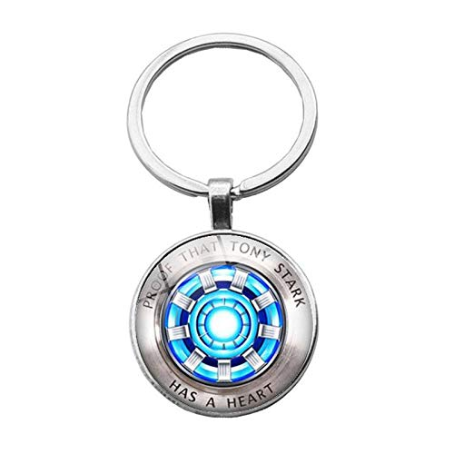 Iron Man Tony Stark Keychain Marvel The Avengers 4 Endgame Quantum Realm Series Key Ring Car Key Chain Holder Porte Clef Iron Man Tony Stark Keychain Marvel The Avengers 4 Endgame Quantum Realm Series