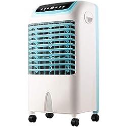 LXY* Humidificateur et Ventilateur de Refroidisseur d'air 3 en 1 portatif avec minuterie de 7,5 Heures, Fonction d'oscillation 3 réglages de Mode Normal et Veille 3 réglages