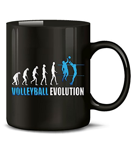 VOLLEYBALL EVOLUTION 542(Schwarz-Blau)