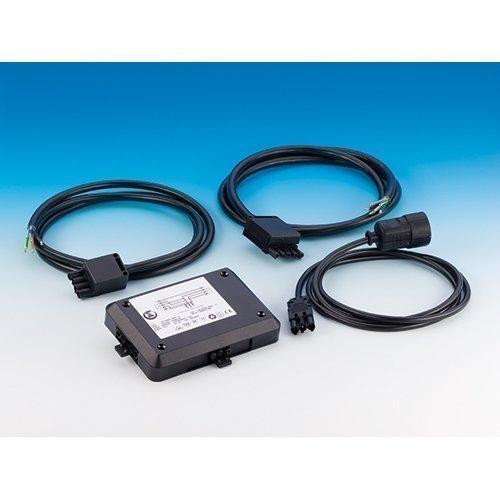 Power-Splitter Set - Anschluss von Kochfeld, Backofen oder Geschirrspüler inkl. 3 Kabel mit je 5 m Kabellänge / Powersplitter / Verteiler