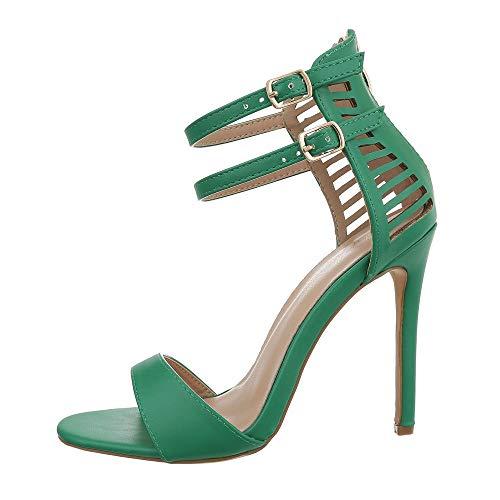 Grüne High Heels Schuhe Karneval Online Shop