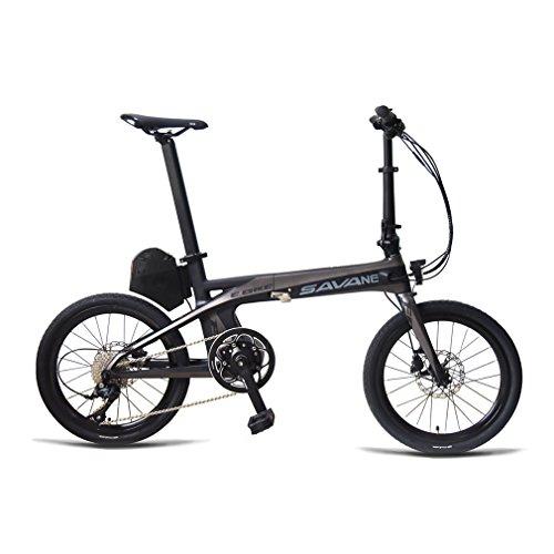 E-Bike, SAVADECK E8 Elektrofahrrad Carbonrahmen 20