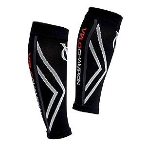 Guardiera a compressione per polpacci, uomini e donne (20-30 mmhg) ideale per stinco, sport, viaggi, dolori alle gambe… 1 spesavip