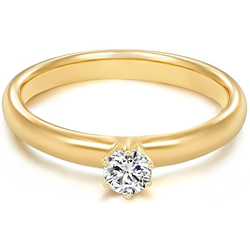 tresor-1934-engagement-ring-ladies-solitaire-sterling-silver-925-yellow-gold-coating-white-zirconia-