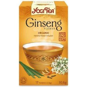 Yogi Tea Ginseng Flower Organic 17 Bag (1 Unit)