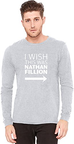I Wish This Was Nathan Fillon Long-Sleeve T-shirt | 100% Preshrunk Jersey Cotton| DTG Printing| Unique & Custom Knit Sweaters, Full Sleeved Jackets, Jerseys & Fashion Clothing By Wicked Wicked
