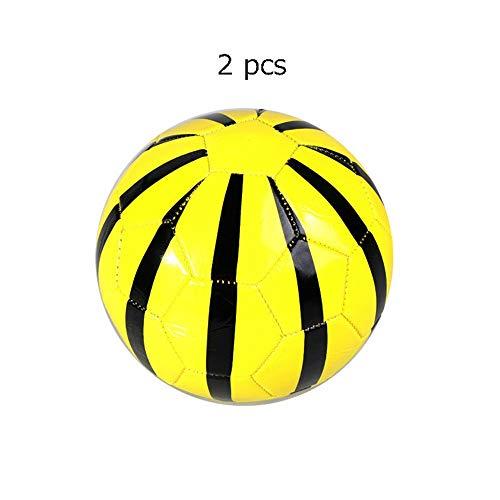 Rutschfest Fußball Spielzeug Für Kinder Kleinkinder Mädchen Jungen Outdoor Sport Alter 1-4 Jahre Alt Set Von 2 Mini Fußball Offizielle Größe 2 Weiche Bälle dauerhaft ( Farbe : C6 , Größe : 2 ) -