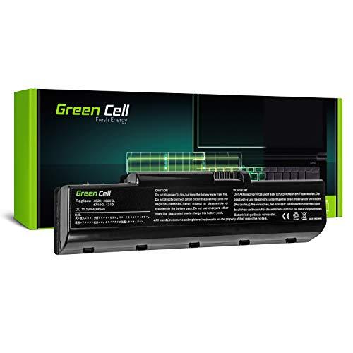 GC® Laptop Akku für Acer Aspire 4530G-752G32MN 4535 4535-5015 4535-5133 4535-5588 (4400mAh 11.1V Schwarz) -
