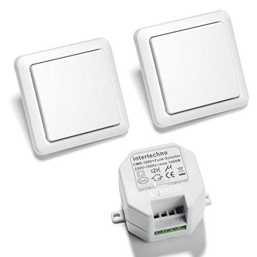 funkschalter fuer licht Intertechno Funkschalter Set Wechselschaltung CMR 1000 + 2x YWT 8500