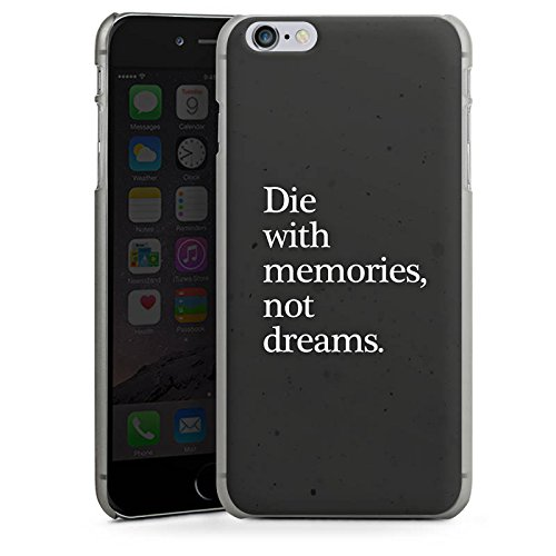 Apple iPhone X Silikon Hülle Case Schutzhülle Träume Erinnerung Traum Hard Case anthrazit-klar