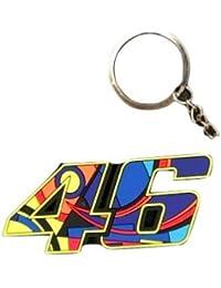 MotoWorld, VR46 The Doctor Key Ring Key Chain, Multi Colour(6.5CM*3.5CM)