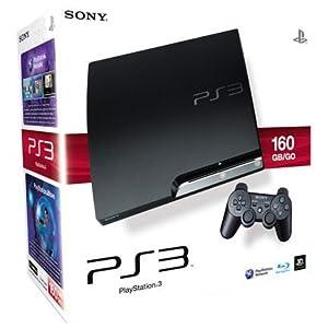 PlayStation 3 – Konsole Slim 160 GB (K-Model) inkl. Dual Shock 3 Wireless Controller