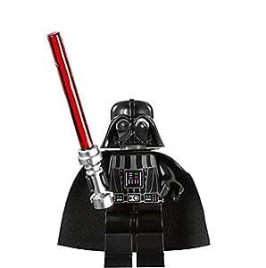 Lego star wars figurine dark vador avec sabre laser rouge - Lego star wars avec dark vador ...
