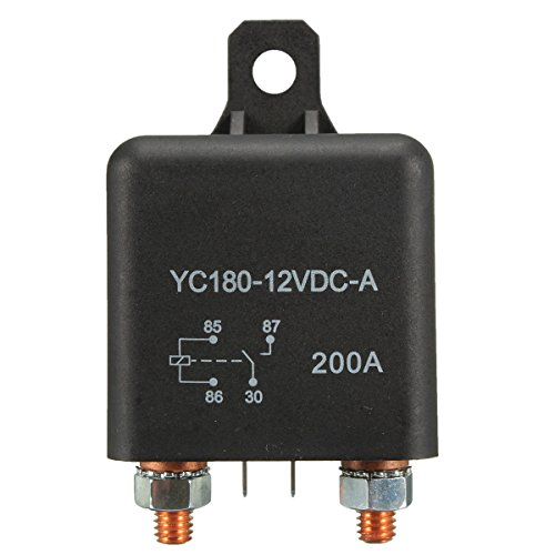 Yongse 12V 200A Heavy Duty Split Lade ON/OFF Relais Auto Boot 200Amp Schalter