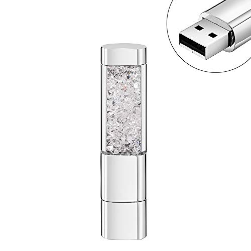 Garrulax USB Stick, Premium USB 2.0, Diamant 16GB / 32GB USB-Flash-Laufwerk Wasserdicht Memory Stick High Speed Übertragung Speicherstick