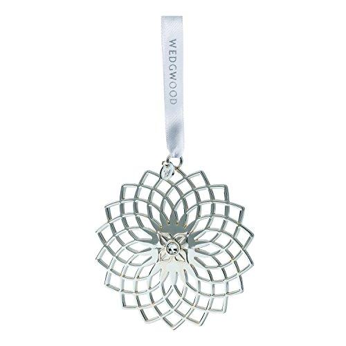 Wedgwood Filigree Snowflake Christmas Ornament, Silver by Wedgwood -