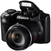 Canon PowerShot SX510 HS Camera - Black (12.1MP, 30x Zoom) 3 inch LCD – (Discontinued by Manufacturer)