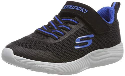 Skechers Dyna-Lite, Zapatillas para Niños, Negro (Black Royal Blue Bkry),  31 EU