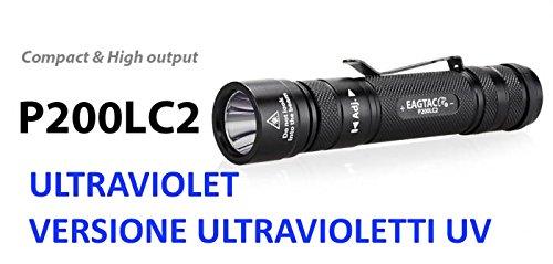 EagleTac EAGTAC p200lc2UV UV 365nm Taschenlampe Profi