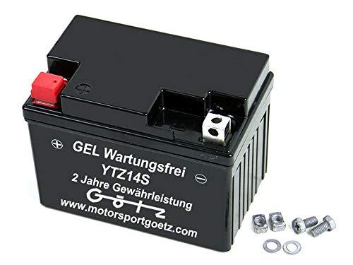 Batterie Gel YTZ14S 11,2Ampere GTZ14-4 YTZ14-S GTZ14S