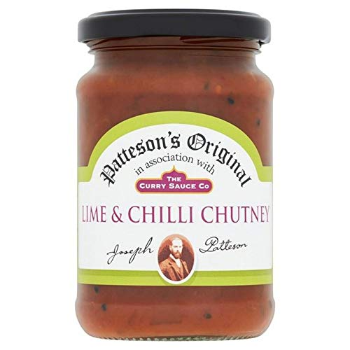 The Curry Sauce Co. Lime and Chilli Chutney 320g