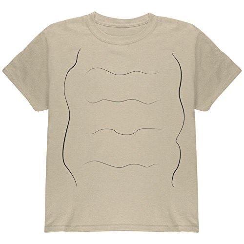 Schnecke Kostüm Jugend T Shirt Sand YXL (Schnecke Halloween-kostüm)