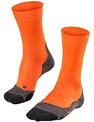FALKE Tk2 Cool - Calcetines de Trekking para Hombre, Hombre, 16138, Flash Orange (8034), 42-43