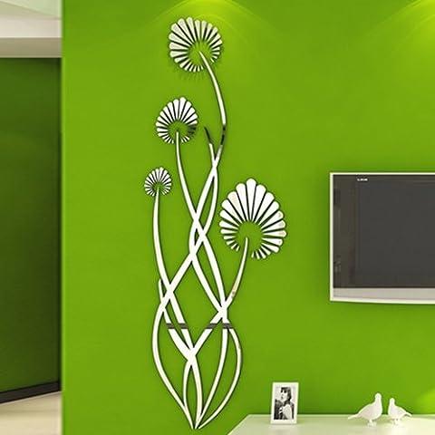 Loterong Schwarz Beschaffenheit Studie das Wohnzimmer Schlafzimmer Wand Aufkleber Wanddekoration Wall Sticker kreativen Stil Schlafsaal, Geländer Violine 7314, groß