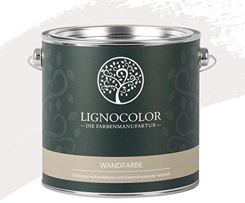 Lignocolor Wandfarbe Innenfarbe Deckenfarbe edelmatt 2,5 L (Shell)