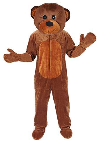 Teddy Bär Einheitsgrösse L - XL Kostüm Fasching Karneval Maskottchen