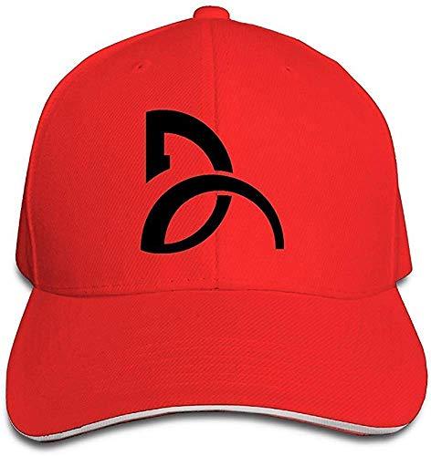 4f49c55234dc7 ZZBBLhat Yhsuk Novak Djokovic Sandwich Peaked Hat/Cap Red