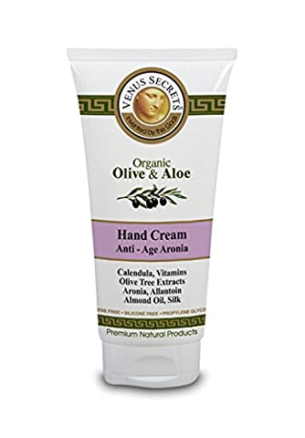 Hand Cream - Anti Ageing for Dry Skin 100ml - Antioxidant Protection, Nourishes and Protects the Skin - With a powerful Berry called Aronia