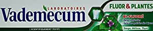 Vademecum - Dentifrice - Fluor et Plantes - Tube 75 ml - Lot de 2